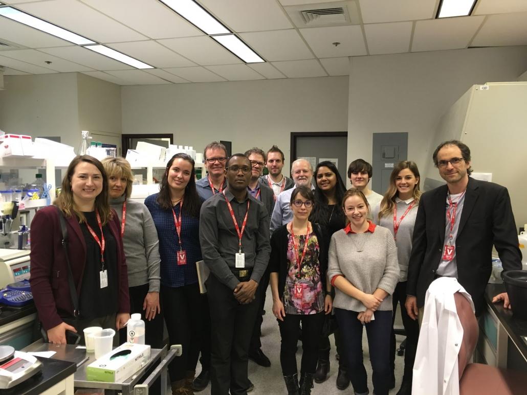 Atelier de travail au Conseil national de recherche du Canada (CNRC)